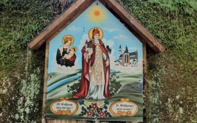 Vyšší Brod, vodopády sv. Wolfganga, Maria Rast